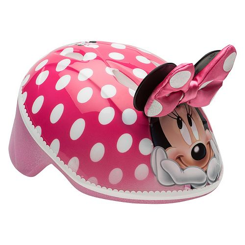 Disney's Minnie Mouse Toddler 3D Ears & Bow Bike Helmet by Bell Sports