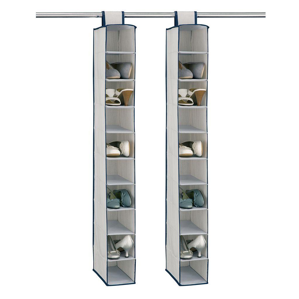 Neu Home 2-pk. Twilight 10 Shelf Accessory Bag Set