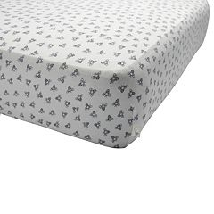 Burt's Bees Baby Organic Honeybee Fitted Crib Sheet
