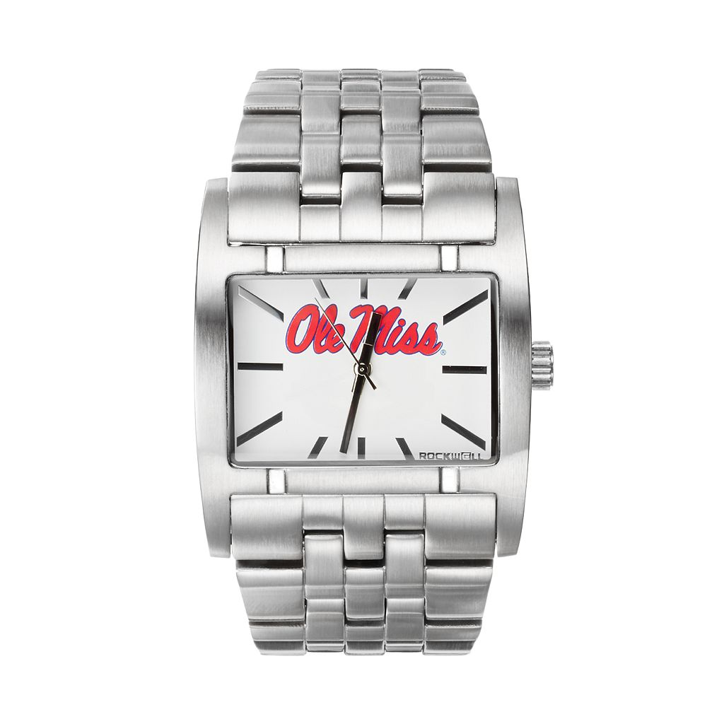 Rockwell Ole Miss Rebels Apostle Stainless Steel Watch - Men