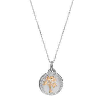 Timeless Sterling Silver 1/10 Carat T.W. Diamond