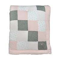 Burt's Bees Baby Organic Bee Reversible Patch Quilt