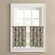Colordrift Cabin Frames 2-pk. Tier Curtains
