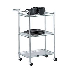 Neu Home Rectangular Serving Cart