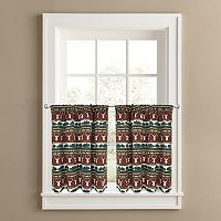 Colordrift Wilderness 2-pk. Tier Curtains