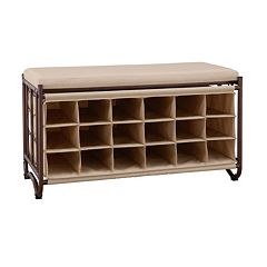 Neu Home Storage Cubby Bench