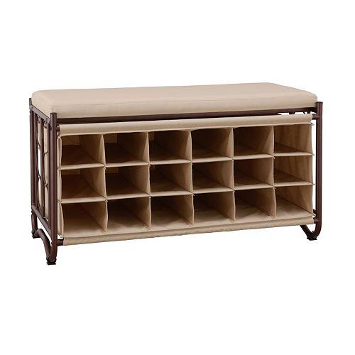 Neu Home Storage Cubby Bench