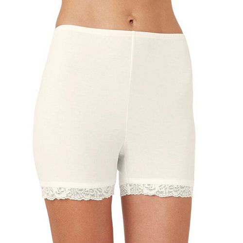 Plus Size Cuddl Duds SofTech Lace-Trim Boyshorts