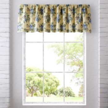 Laura Ashley Lifestyles Linley Window Valance - 18'' x 86''