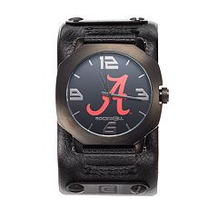 Men's Rockwell Alabama Crimson Tide Assassin Leather Watch