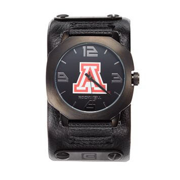 Rockwell Arizona Wildcats Assassin Leather Watch - Men