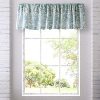 Laura Ashley Lifestyles Rowland Window Valance - 18'' x 86''