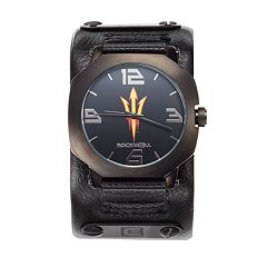 Rockwell Arizona State Sun Devils Assassin Leather Watch - Men