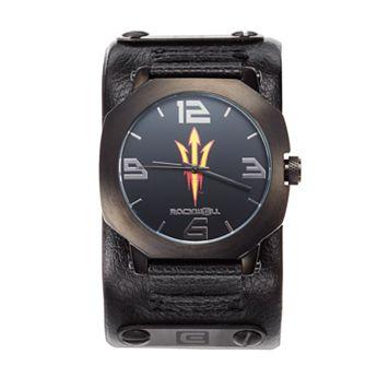 Rockwell Arizona State Sun Devils Assassin Leather Watch - Men