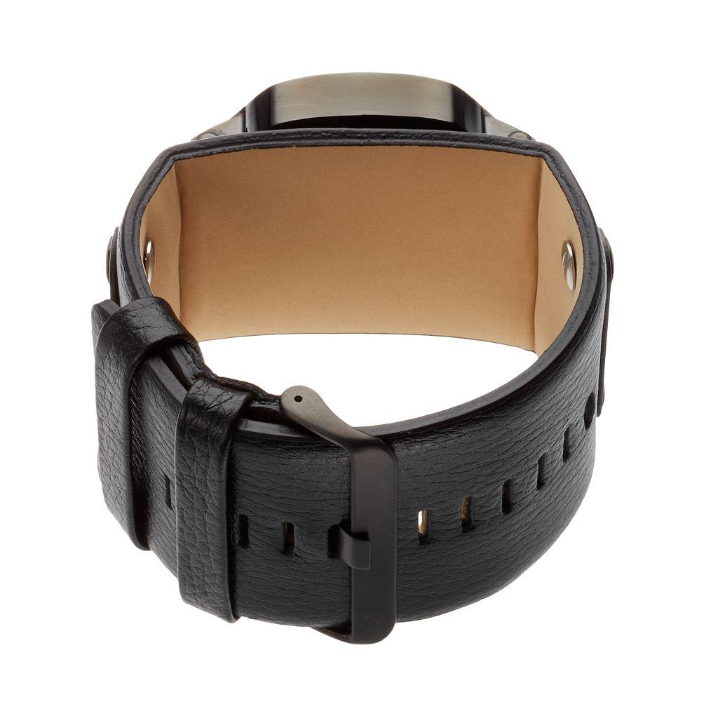 Rockwell Arkansas Razorbacks Assassin Leather Watch - Men