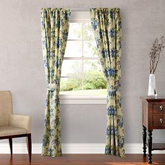 Laura Ashley 2-pack Lifestyles Linley Window Curtains - 87'' x 54''