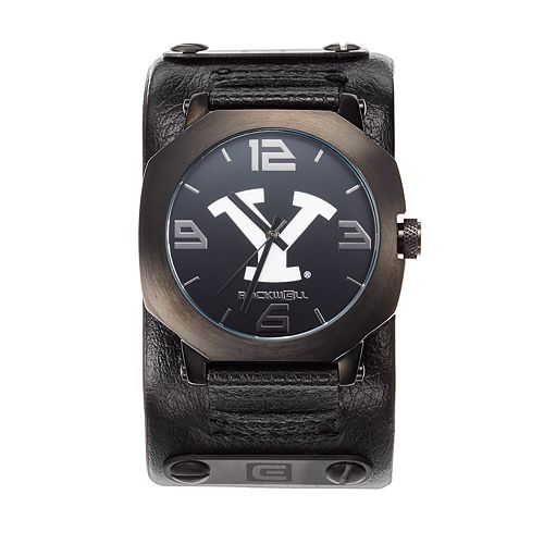 Rockwell BYU Cougars Assassin Leather Watch - Men