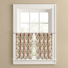 Colordrift Dream Catcher 2-pk. Tier Curtains