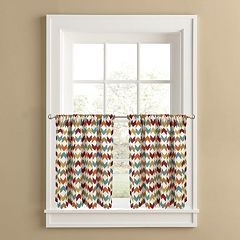 Colordrift Arrowhead 2-pk. Tier Curtains