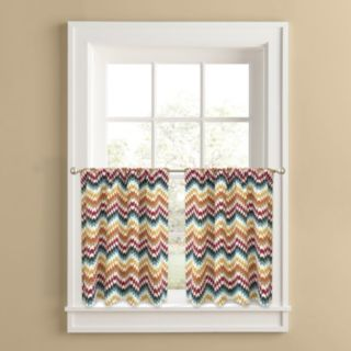 Colordrift Oasis 2-pk. Tier Curtains