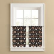 Colordrift Buffalo Roam 2-pk. Tier Curtains