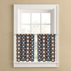 Colordrift El Paso 2-pk. Tier Curtains