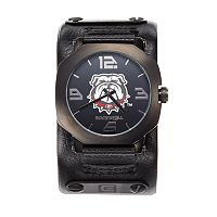 Rockwell Georgia Bulldogs Assassin Leather Watch - Men