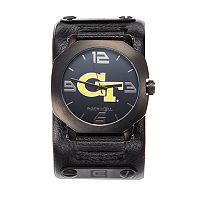 Rockwell Georgia Tech Yellow Jackets Assassin Leather Watch - Men