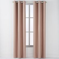 Arlee 2-pk. Drake Geometric Jacquard Blackout Grommet Curtains - 84'' x 40''