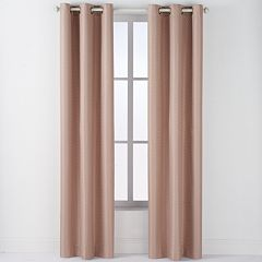 Arlee 2-pack Drake Geometric Jacquard Blackout Grommet Window Curtains - 84'' x 40''