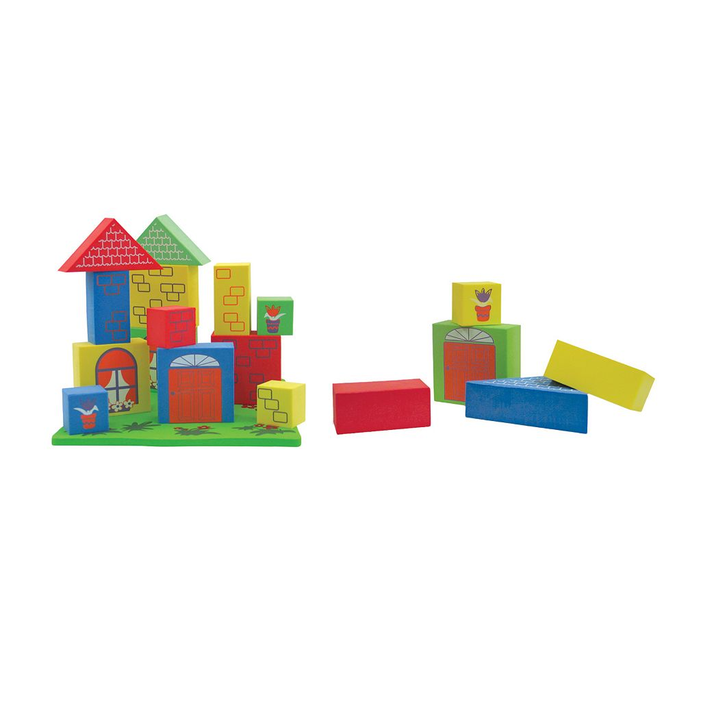 Edushape Floating Blocks & Platform Set