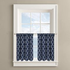 Colordrift Rope Twist 2-pk. Tier Curtains