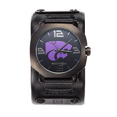 Rockwell Kansas State Wildcats Assassin Leather Watch - Men