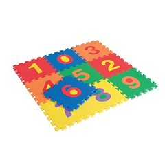 Edushape 10 pc Edu-Tiles Numbers