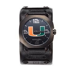 Rockwell Miami Hurricanes Assassin Leather Watch - Men