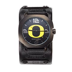 Rockwell Oregon Ducks Assassin Leather Watch - Men