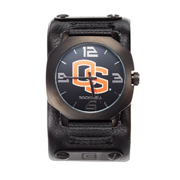 Rockwell Oregon State Beavers Assassin Leather Watch - Men