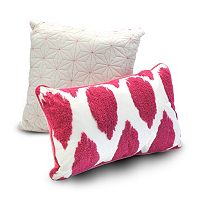 Seventeen 2 pc Deliah Ikat Throw Pillow Set