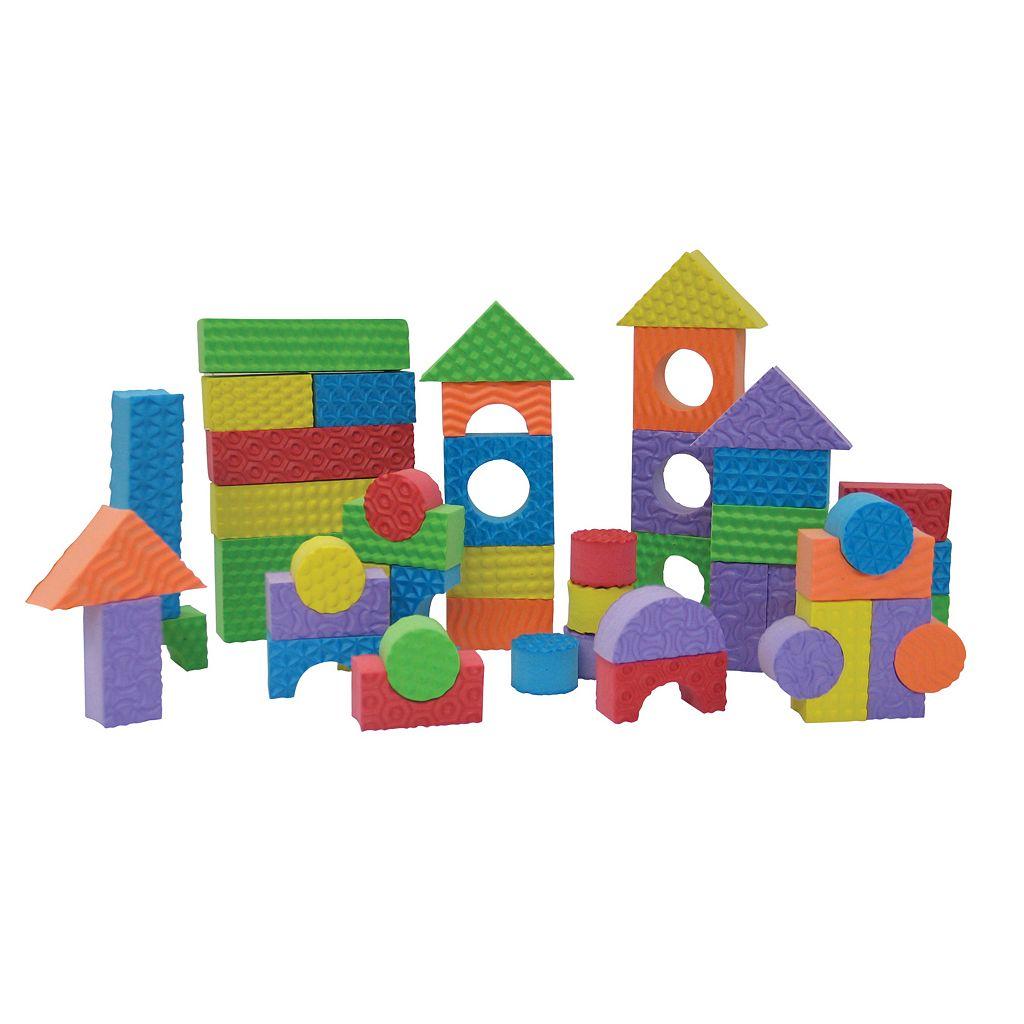 Edushape 80-pc. Textured Blocks
