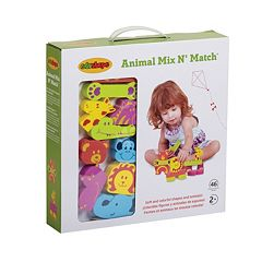 Edushape 46-pc. Animals Mix 'N Match