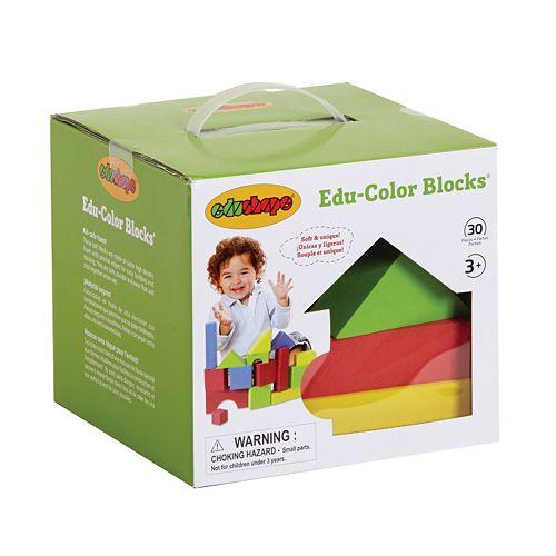 Edushape Edu-Foam Color Blocks Set