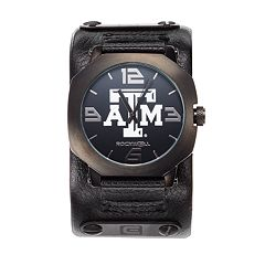 Rockwell Texas A&M Aggies Assassin Leather Watch - Men