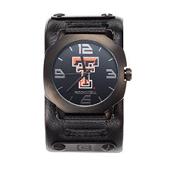 Rockwell Texas Tech Red Raiders Assassin Leather Watch - Men