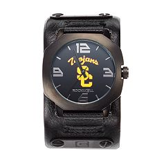 Rockwell USC Trojans Assassin Leather Watch - Men
