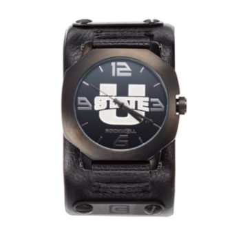Rockwell Utah State Aggies Assassin Leather Watch - Men