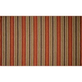 Momeni Marquis Striped Reversible Wool Rug