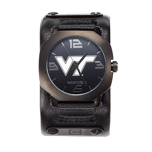 Rockwell Virginia Tech Hokies Assassin Leather Watch - Men