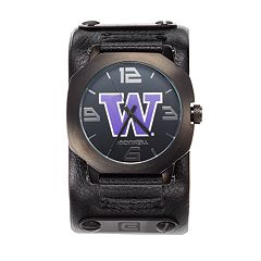 Rockwell Washington Huskies Assassin Leather Watch - Men