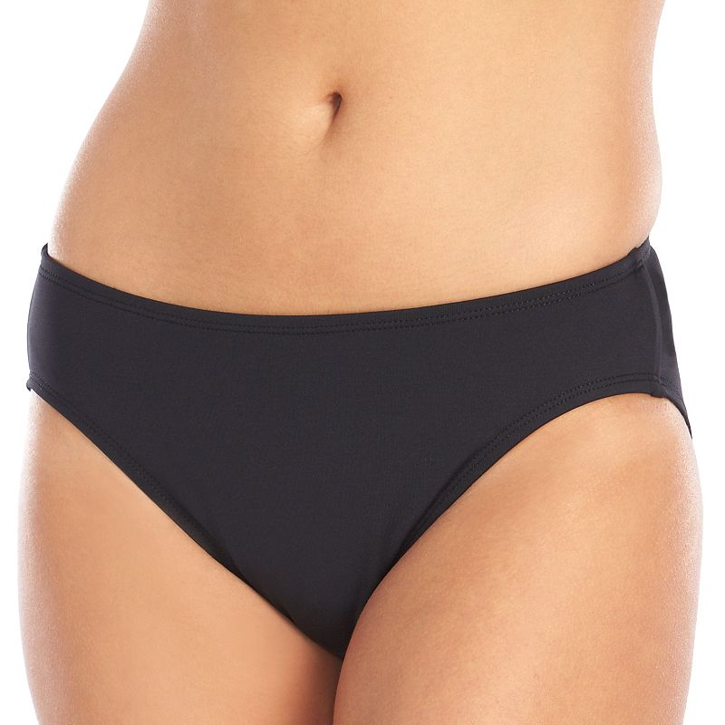 Women's Chaps Solid Hipster Bottoms
