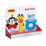 Edushape Soft Plush Toy Pals Set